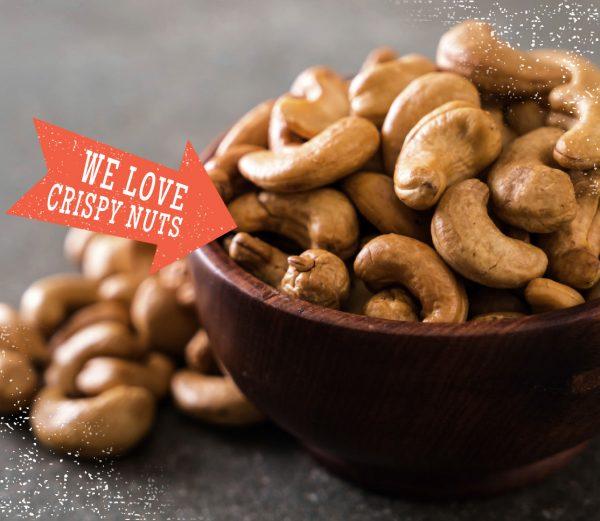 Täglich frisch geröstete Cashews