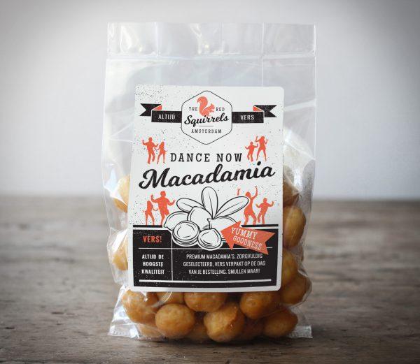 Vers gebrande Macadamia noten