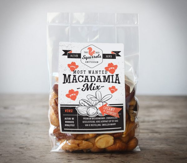 Vers gebrande Macadamia notenmix